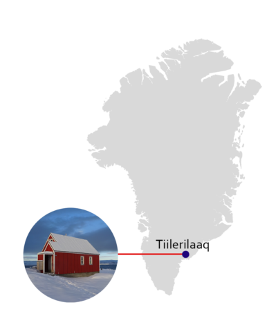 where kamilla lives in Greenland