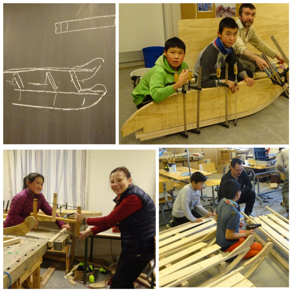 Greenlandic Sled dog and Sledge Project